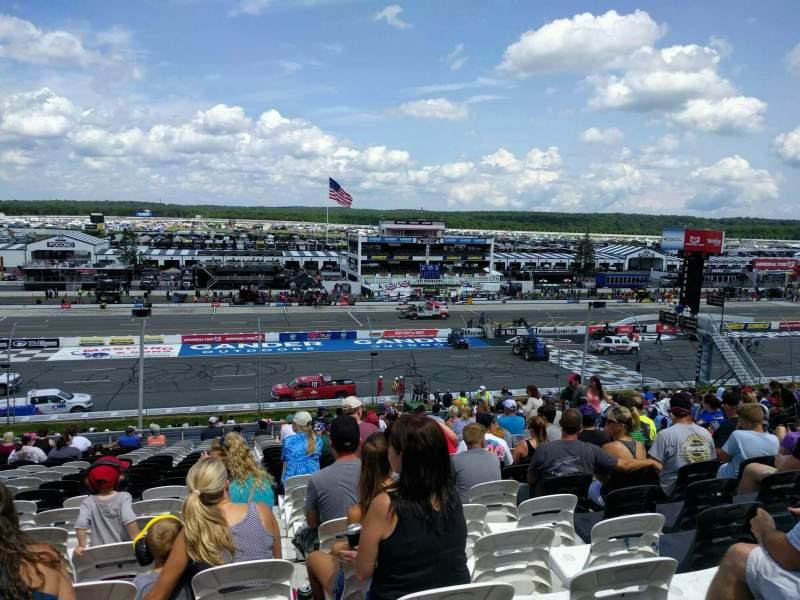 Pocono Raceway, vak: 228, rij: 38, stoel: 12
