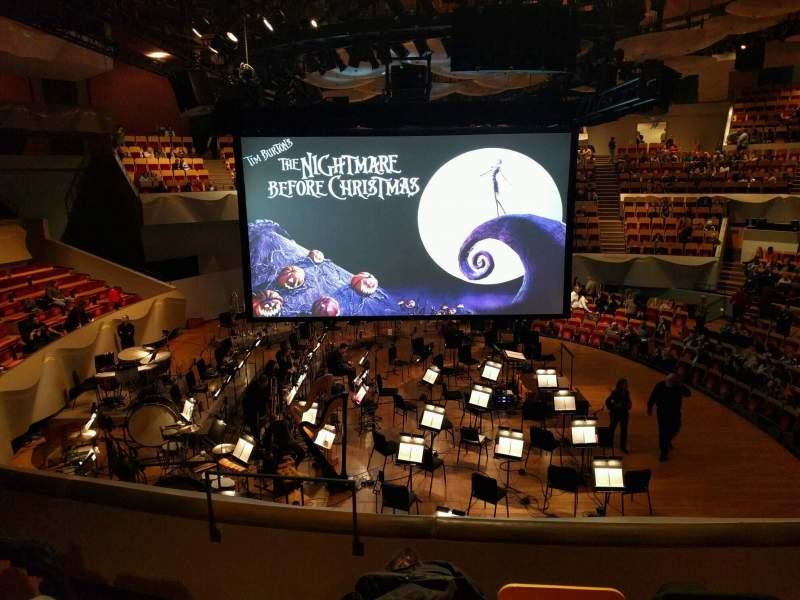 Uitzicht voor Boettcher Concert Hall Vak Dress Circle 2 Rij i Stoel 11