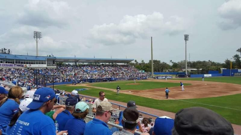 Florida Auto Exchange Stadium, vak: 200A, rij: 3, stoel: 11