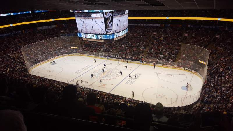 Scotiabank Arena, vak: 307, rij: 16, stoel: 9