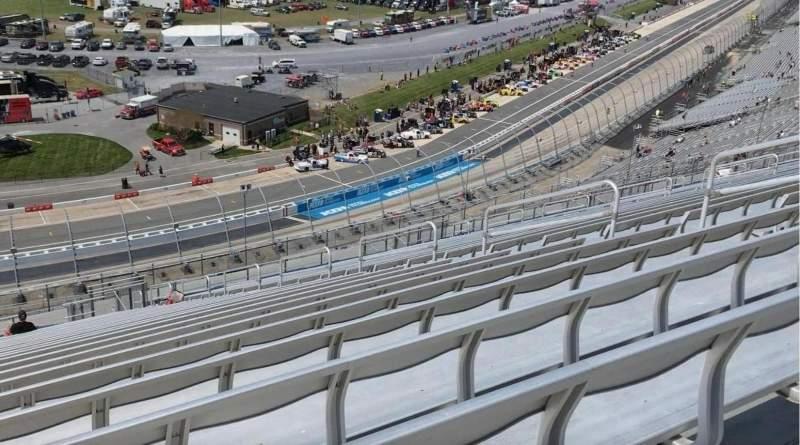 Uitzicht voor Dover International Speedway Vak 120 Rij 60
