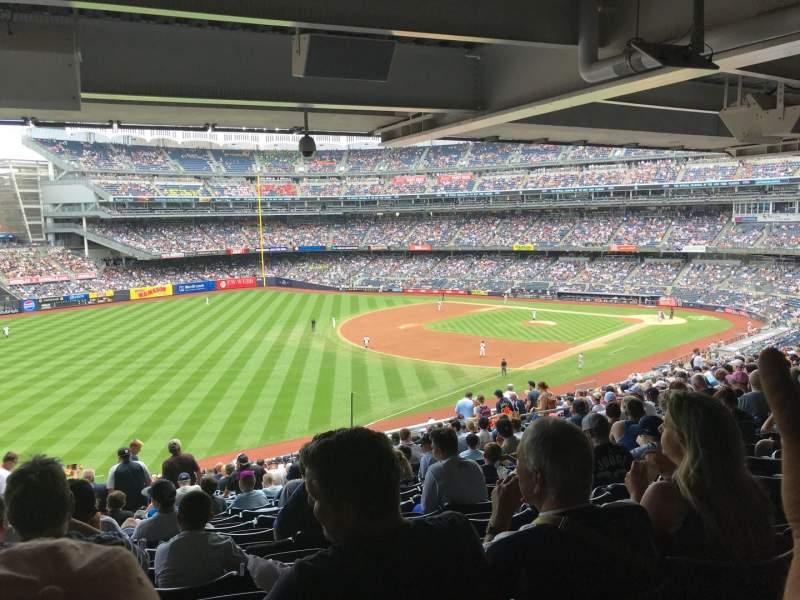 Yankee Stadium, vak: 231, rij: Standing , stoel: 4