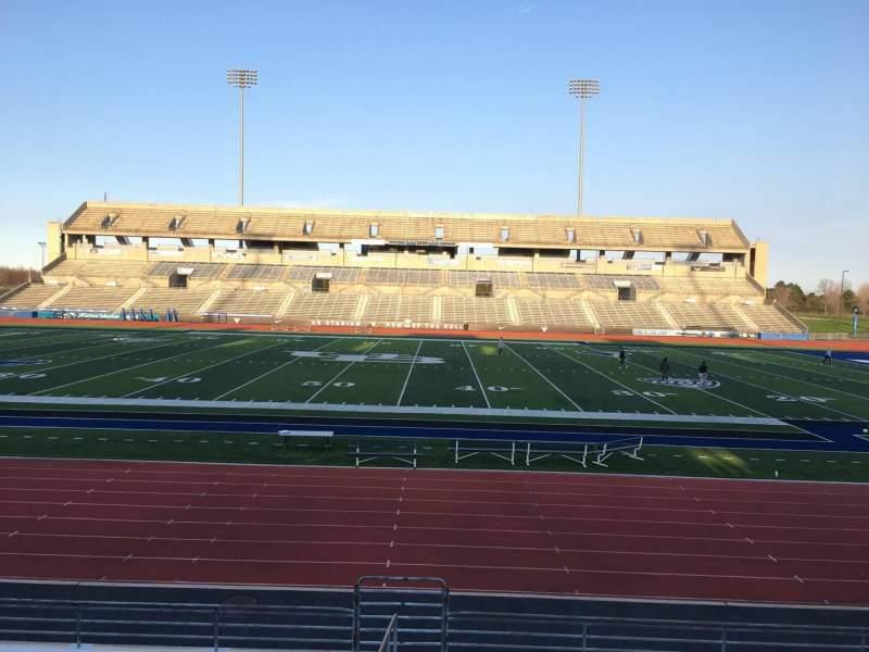 Uitzicht voor UB Stadium Vak 105 Rij N Stoel 20