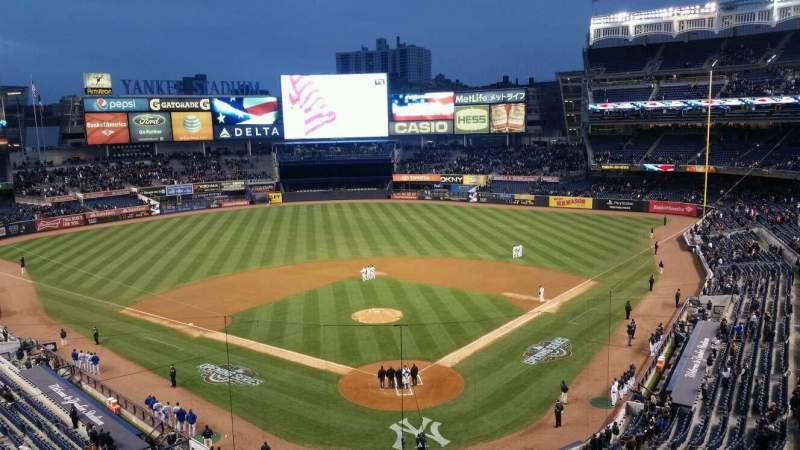 Yankee Stadium, vak: suite, rij: a, stoel: 1