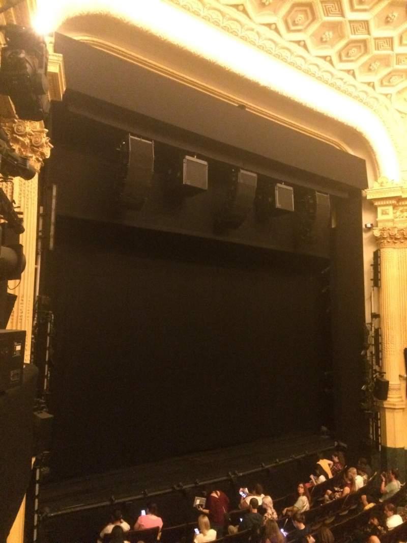 Hudson Theatre, vak: Dress Circle, rij: A, stoel: 15