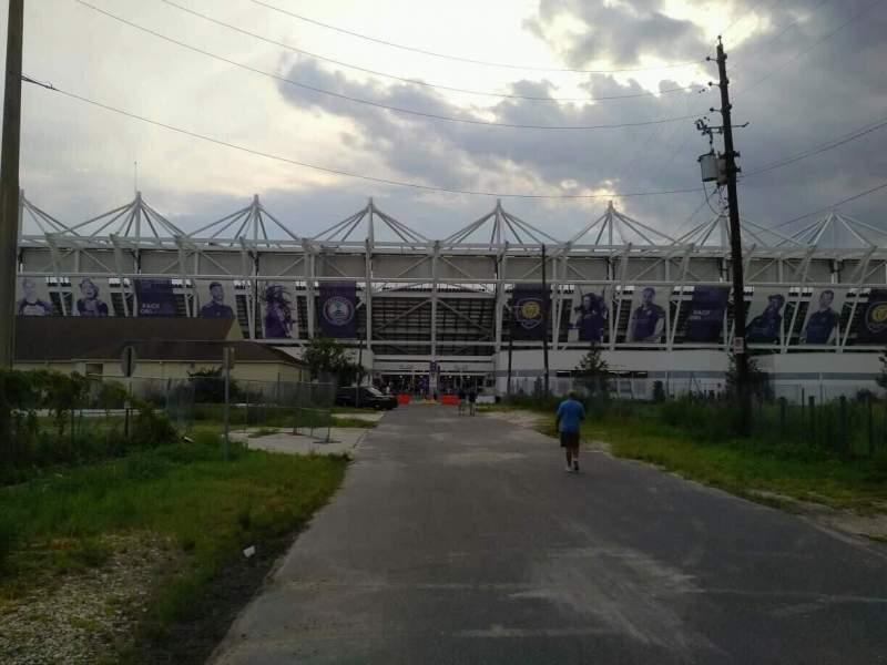 Orlando City Stadium, vak: exterior