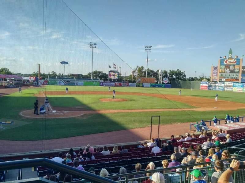 Whitaker Bank Ballpark, vak: 204, rij: 5, stoel: 1