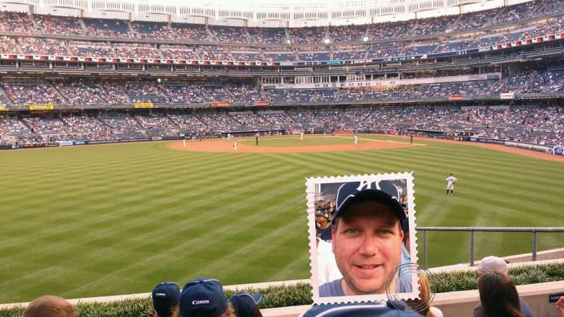 Yankee Stadium, vak: 237, rij: 6, stoel: 17