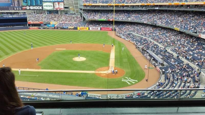 Yankee Stadium, vak: Suite 43, rij: B, stoel: 2