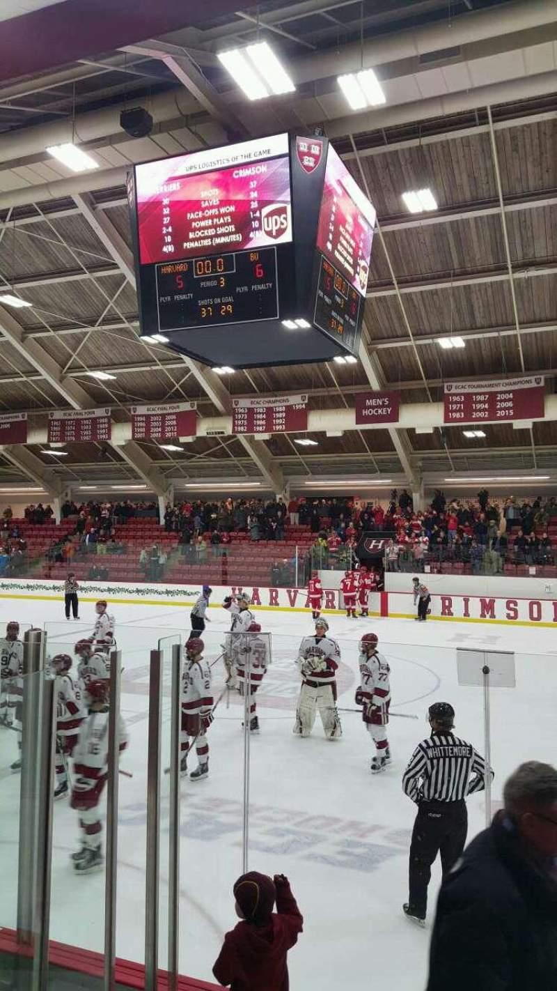 Uitzicht voor Bright-Landry Hockey Center Vak 18 Rij E Stoel 7