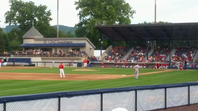 BB&T Ballpark at Historic Bowman Field, vak: cutters cove, rij: na, stoel: na