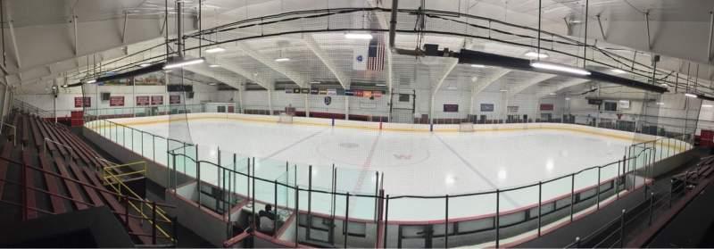 Uitzicht voor John A. Ryan Arena