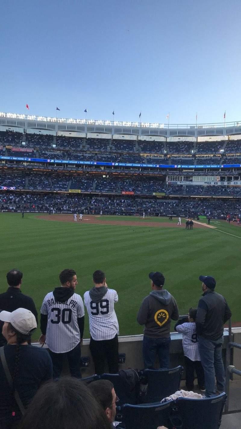 Yankee Stadium, vak: 134, rij: 6, stoel: 3