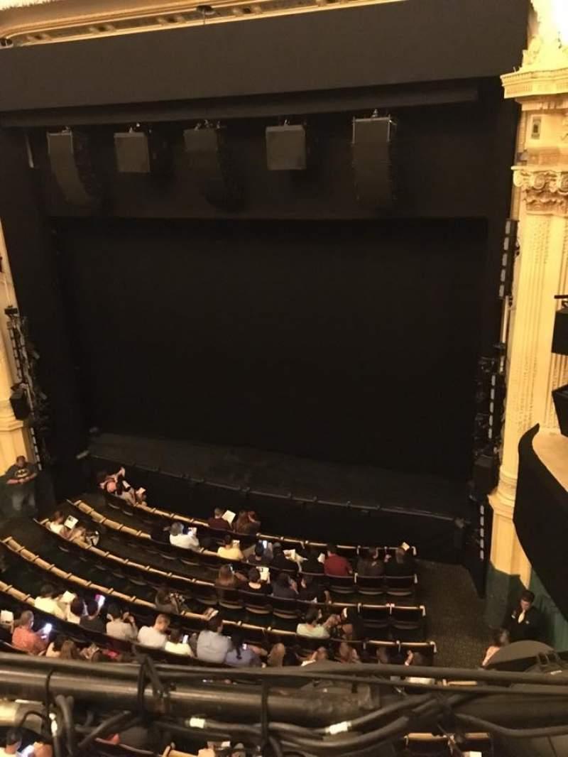 Hudson Theatre, vak: Balcony, rij: A, stoel: 6