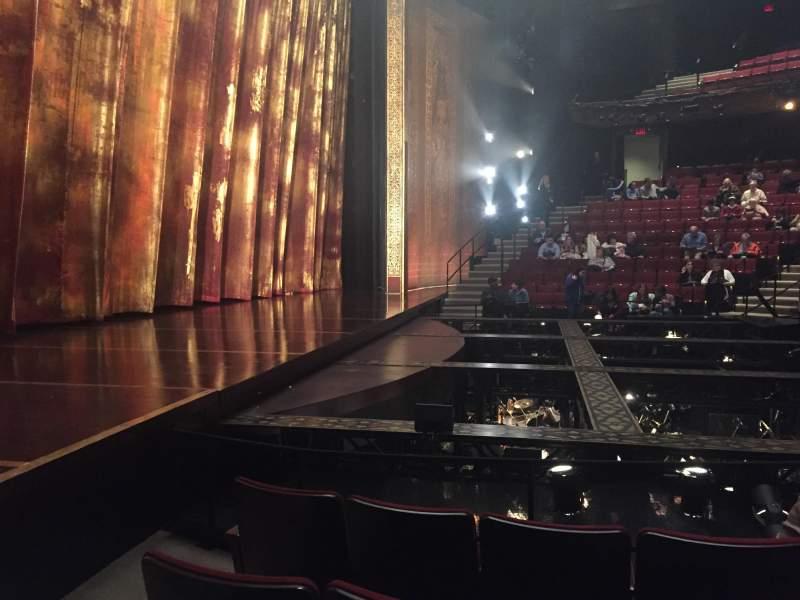 Uitzicht voor Vivian Beaumont Theater Vak Orchestra L Rij F Stoel 110