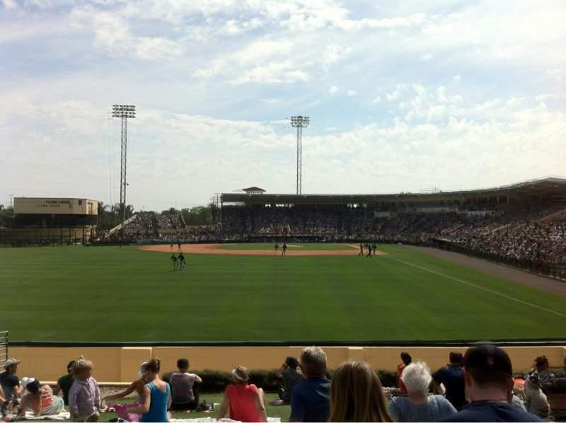 Uitzicht voor Joker Marchant Stadium Vak Berm