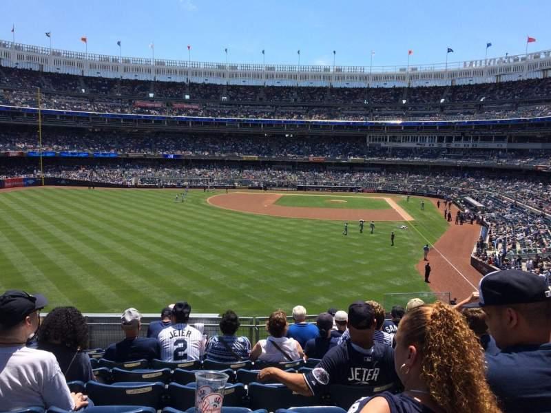 Yankee Stadium, vak: 234, rij: 9, stoel: 7