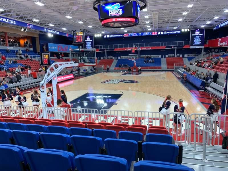 Uitzicht voor UPMC Events Center Vak 110 Rij G Stoel 1
