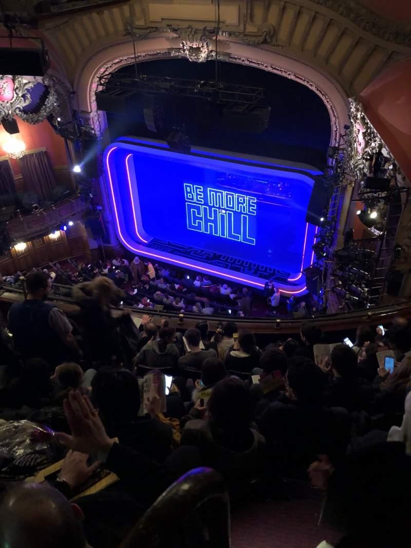 Uitzicht voor Lyceum Theatre (Broadway) Vak Balcony R Rij F Stoel 16