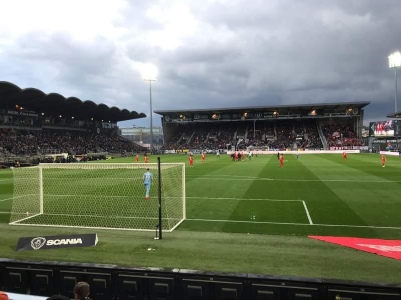 Uitzicht voor Stade Raymond Kopa Vak Colombier Rij D Stoel 30
